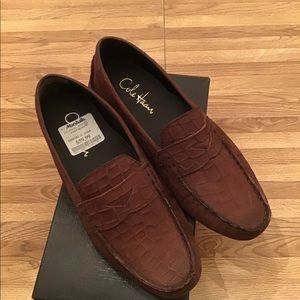 NWT Ladies Cole Haan Driving Moccasins Size 8 B